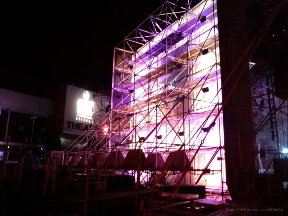 Les dernières répétitions nocturne pour le SET ELECTRO 9