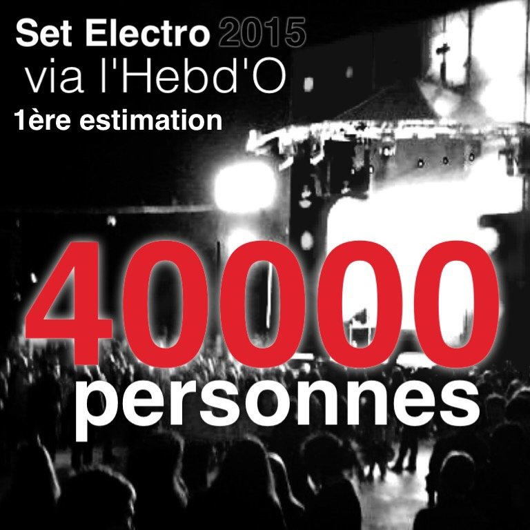 SET ELECTRO 2015 Retour en photos et vidéos 3