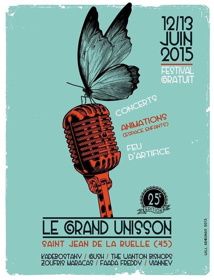 affiche Festival le grand unisson 2015
