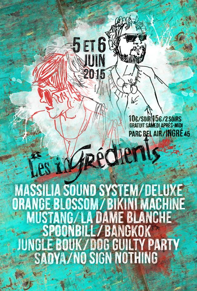 affiche festival les ingrédients 2015
