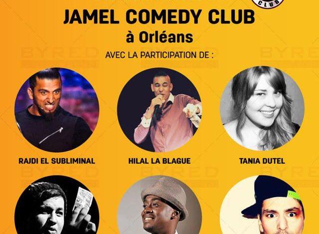 Orléans aime l'humour avec le Jamel Comedy Club 1
