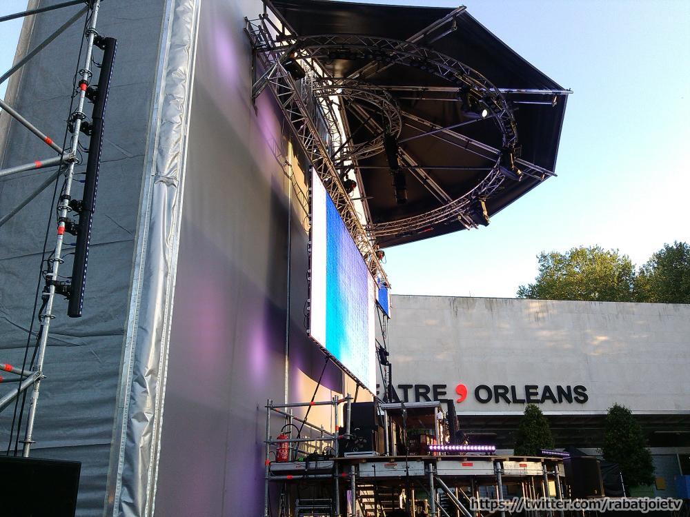 set electro orléans 2015 scene préparation theatre