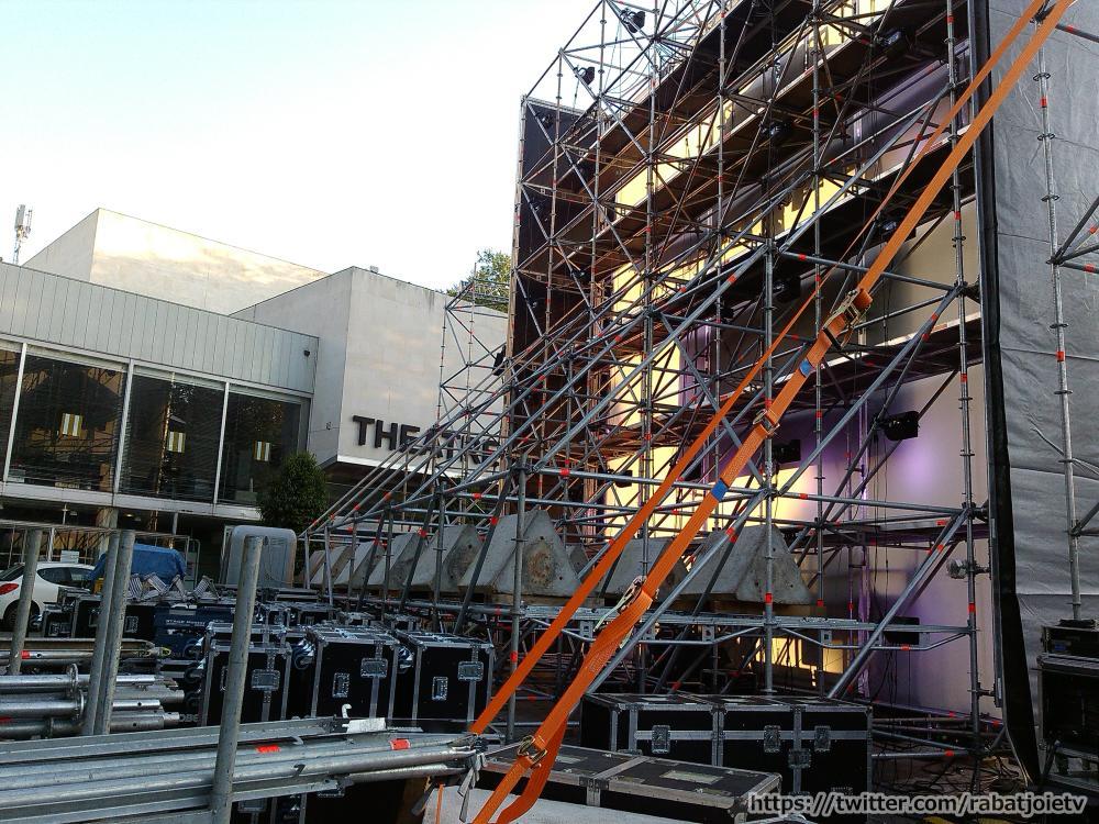 set electro orléans 2015 scene préparation arriere