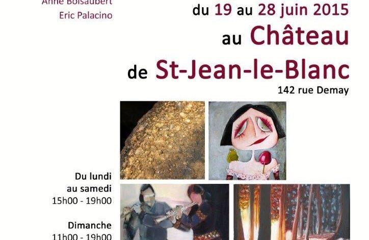 Elles et Lui s'exposent au Château de Saint-Jean le Blanc 1