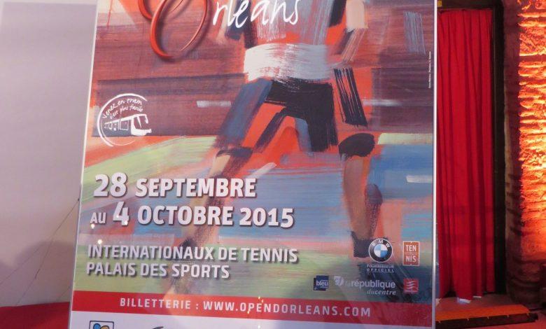 Tennis, présentation de l'affiche de la 11ème édition de l'Open d'Orléans 1