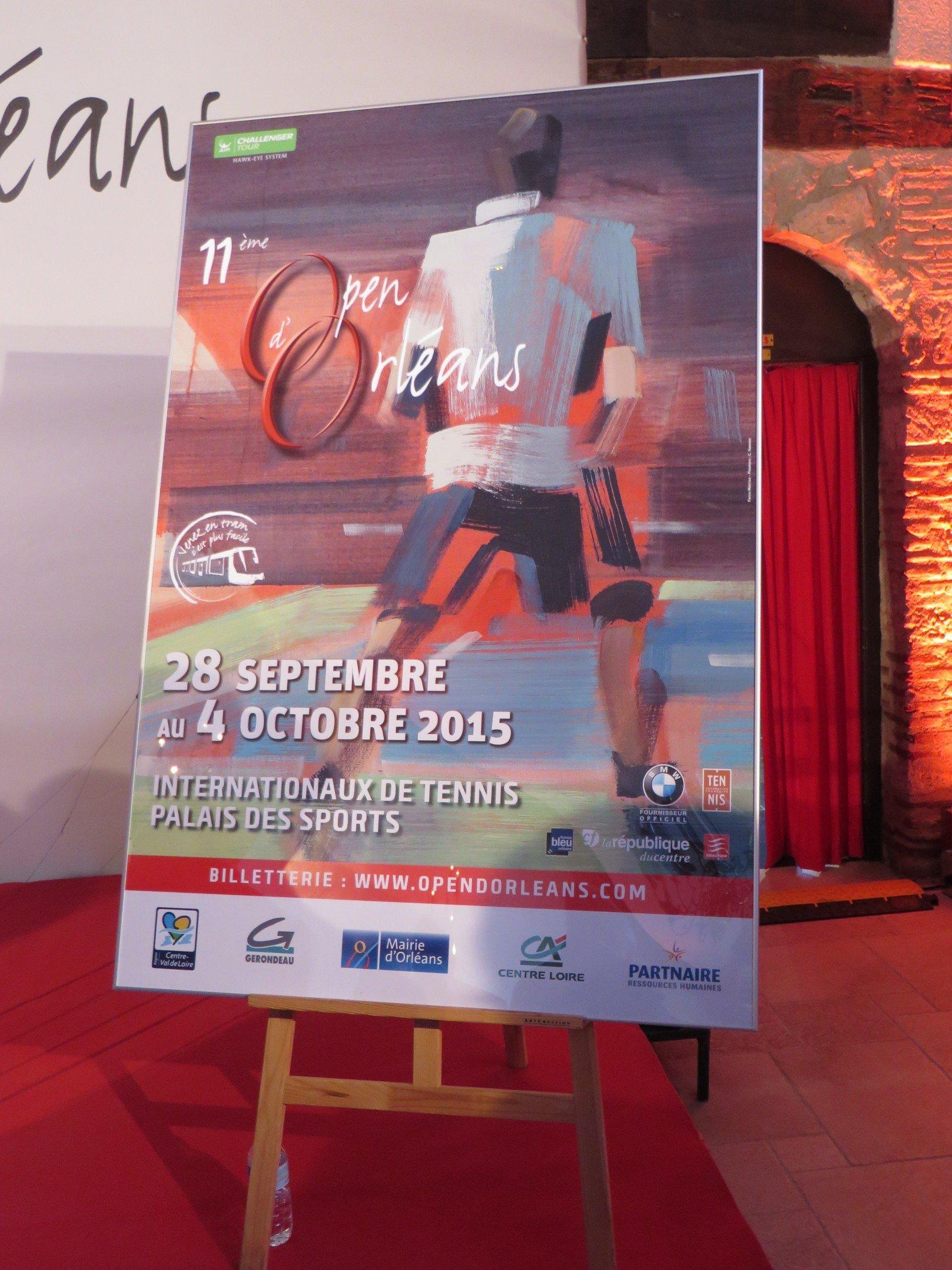 Tennis, présentation de l'affiche de la 11ème édition de l'Open d'Orléans 5