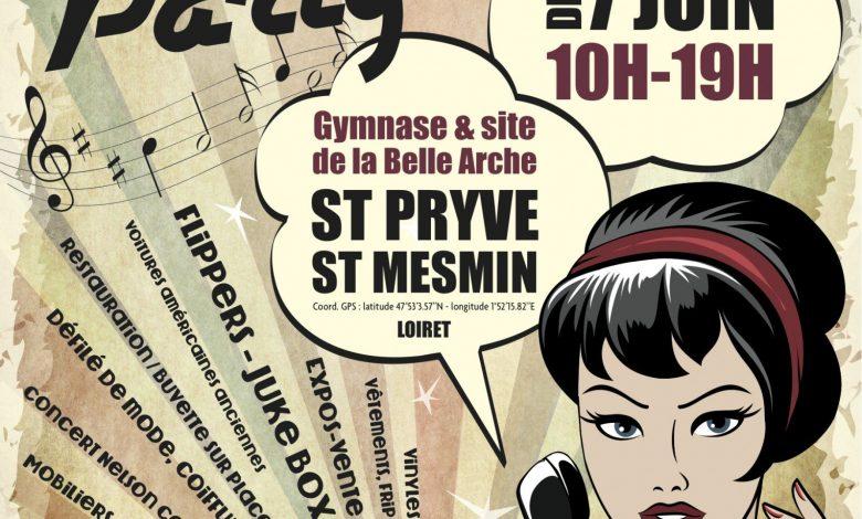 Participer à la Rock n' Roll Party de Saint-Pryvé ! 1