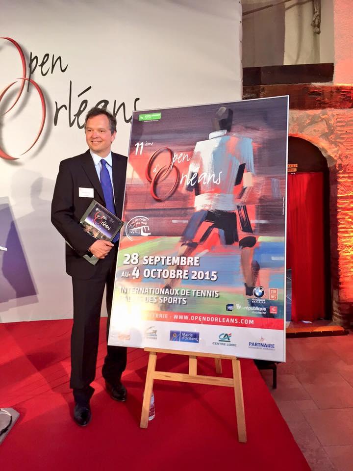 affiche open d'orleans tennis 2015 présentation
