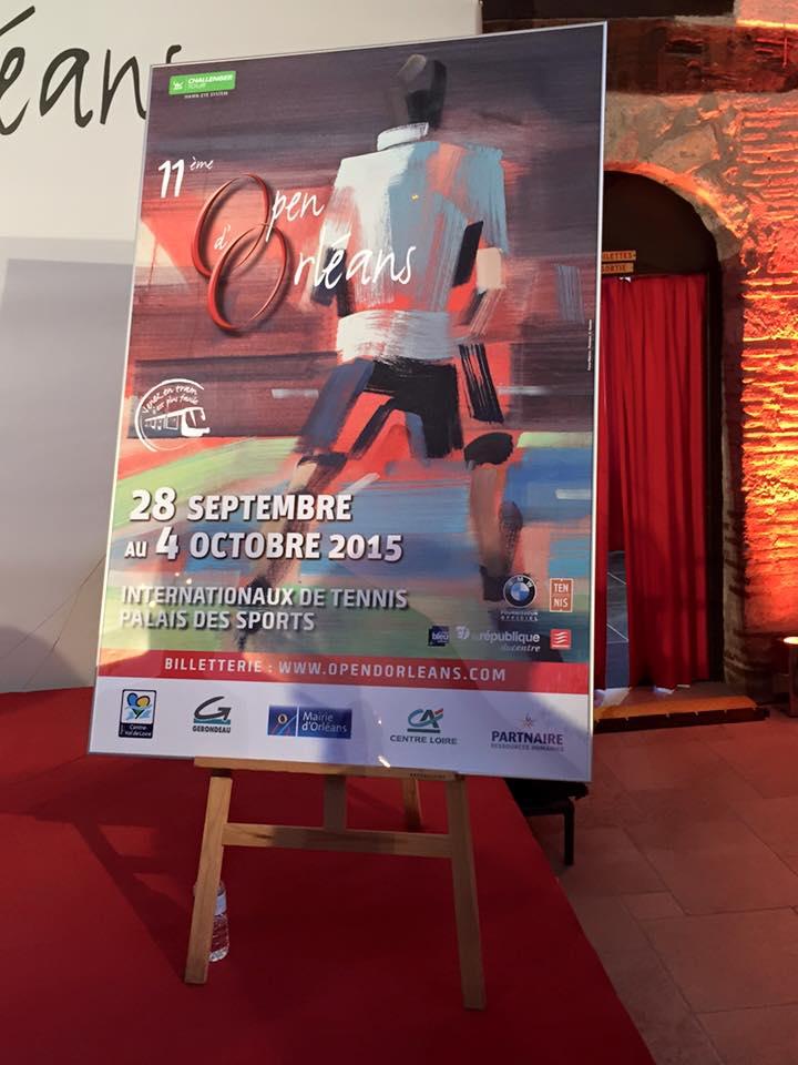 affiche open d'orleans tennis 2015
