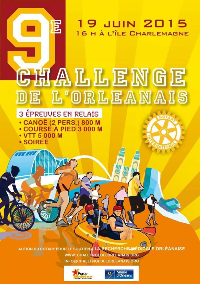 challenge de l'orléanais 2015 ile charlemagne