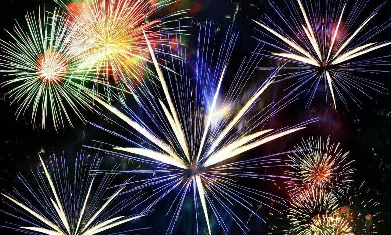 Les feux d'artifices de l'Agglo du 14 Juillet 1