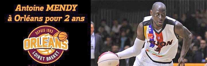 Basket : Antoine Mendy s'engage pour deux saisons avec l'OLB 5
