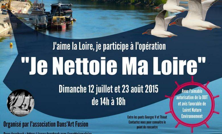 """Opération """"Je nettoie ma Loire"""" revient ! 1"""