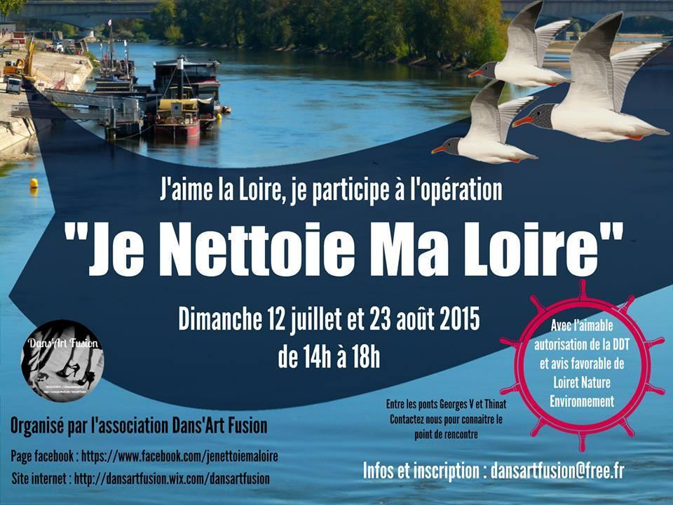 """Opération """"Je nettoie ma Loire"""" revient ! 10"""