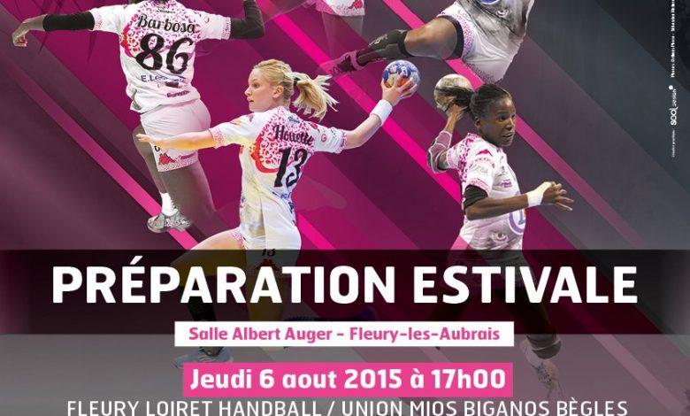 Le Fleury Loiret Handball lance sa préparation estivale ! 1