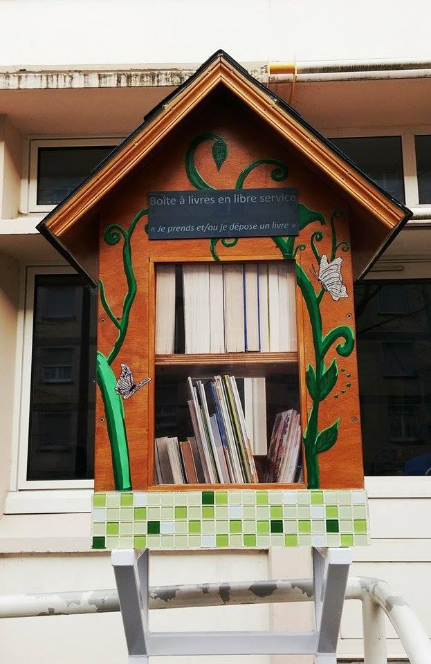 Trouvez une boîte à lire près de chez vous 1