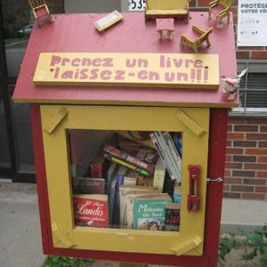 Trouvez une boîte à lire près de chez vous 14