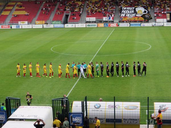 Football, troisième journée USO 0-0 Belfort 5