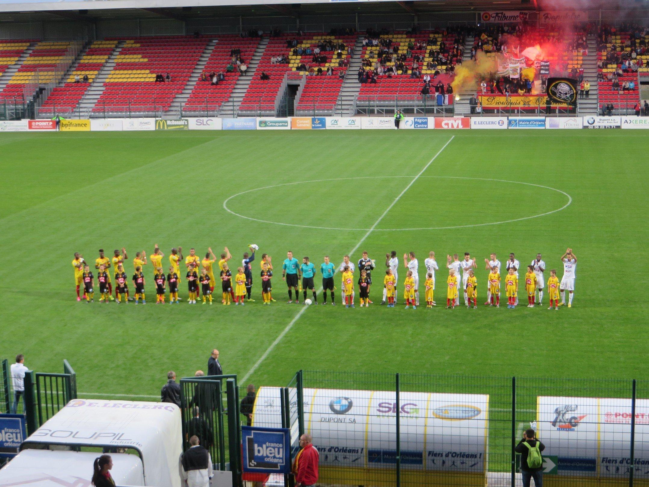 Football : US Orléans 2-2 Amiens 4