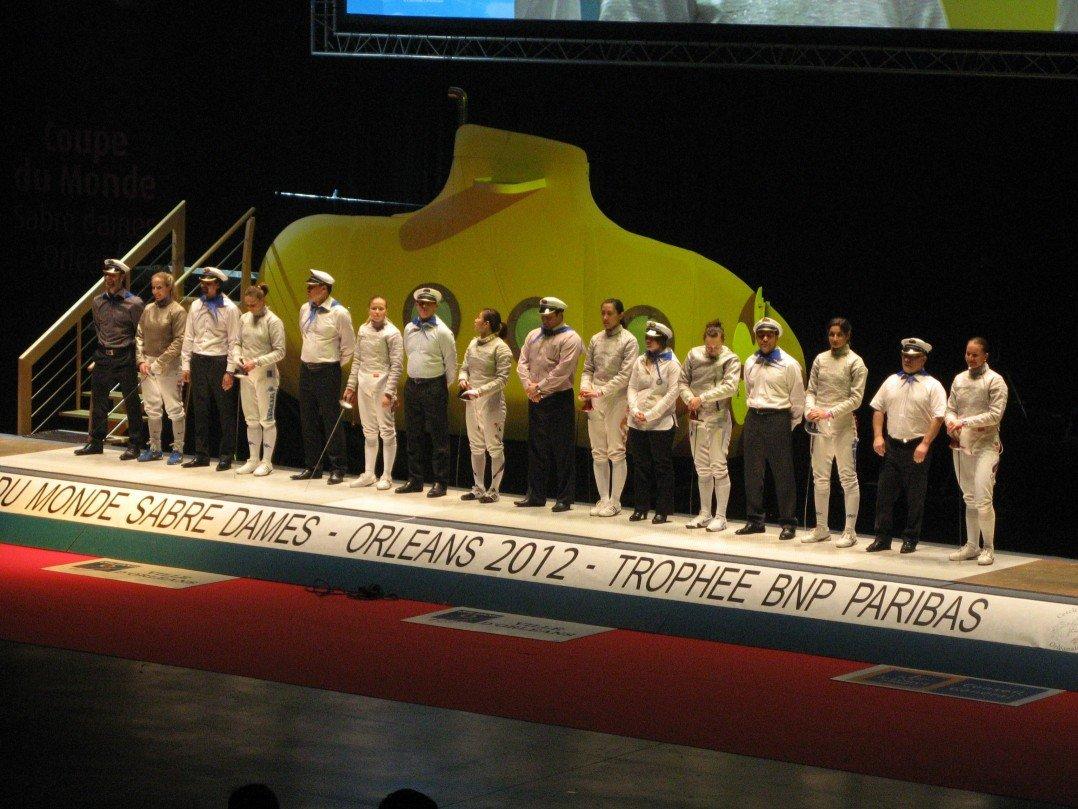 Coupe du Monde Sabre Dames 2012