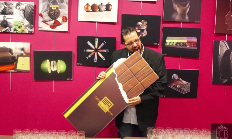 En photo: Les 10 ans du chocolatier Sébastien Papion 1
