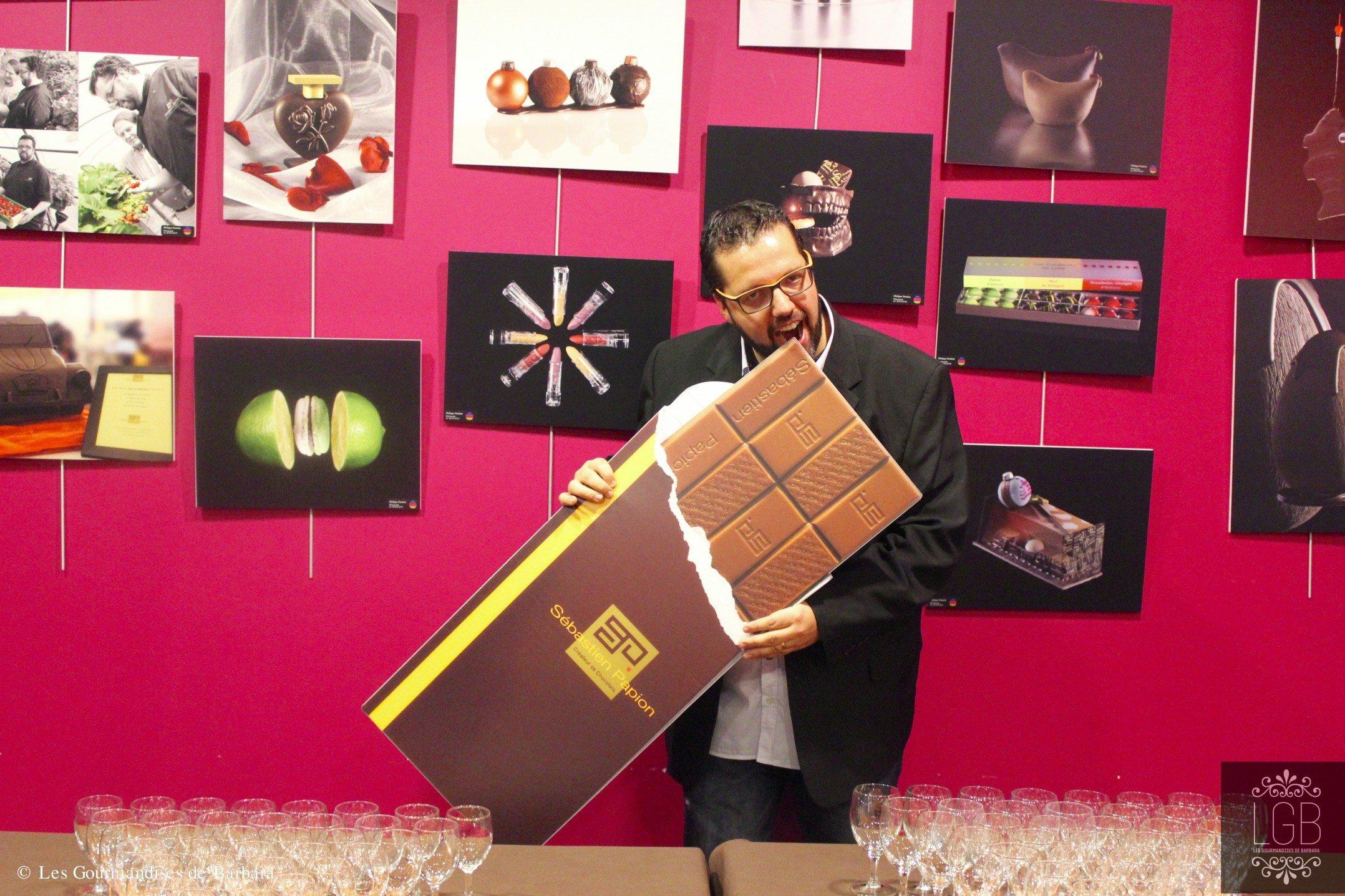 En photo: Les 10 ans du chocolatier Sébastien Papion 3
