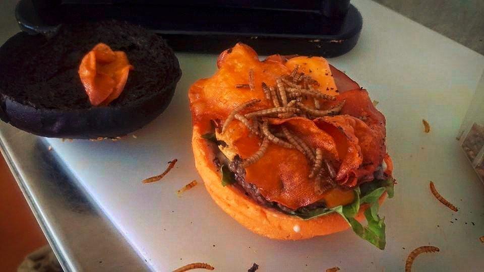 la fine bouche halloween burger