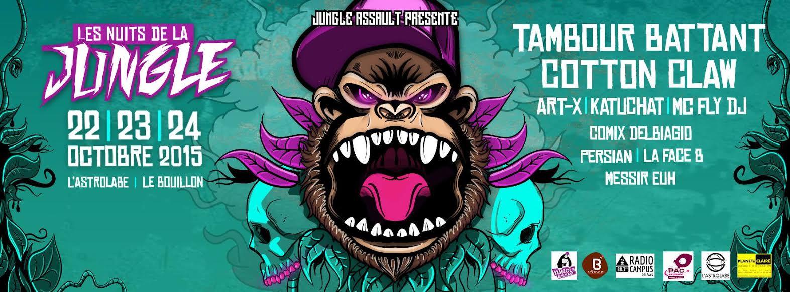 De jeudi à Samedi Jungle Assault présente, Les Nuits de la Jungle 6