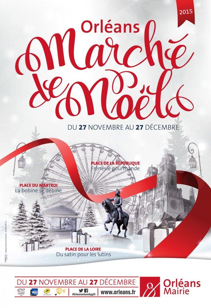 affiche marché de noël orléans 2015