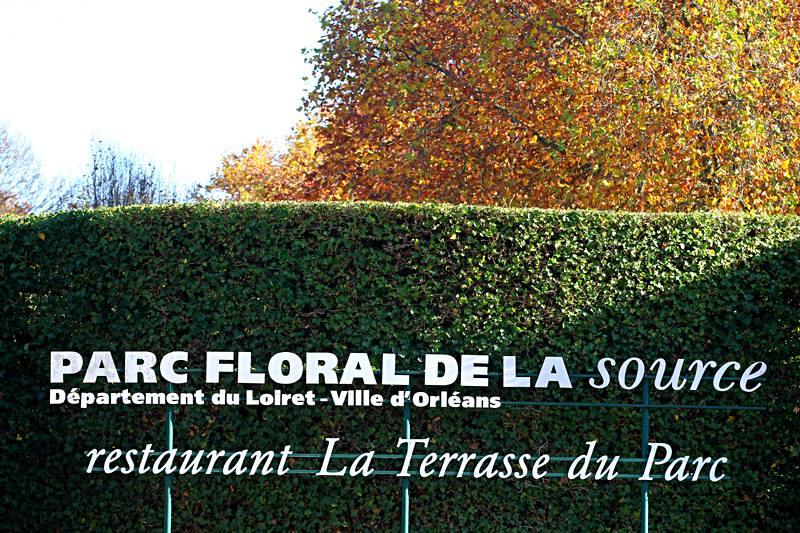 parc floral orléans automne entree gratuit