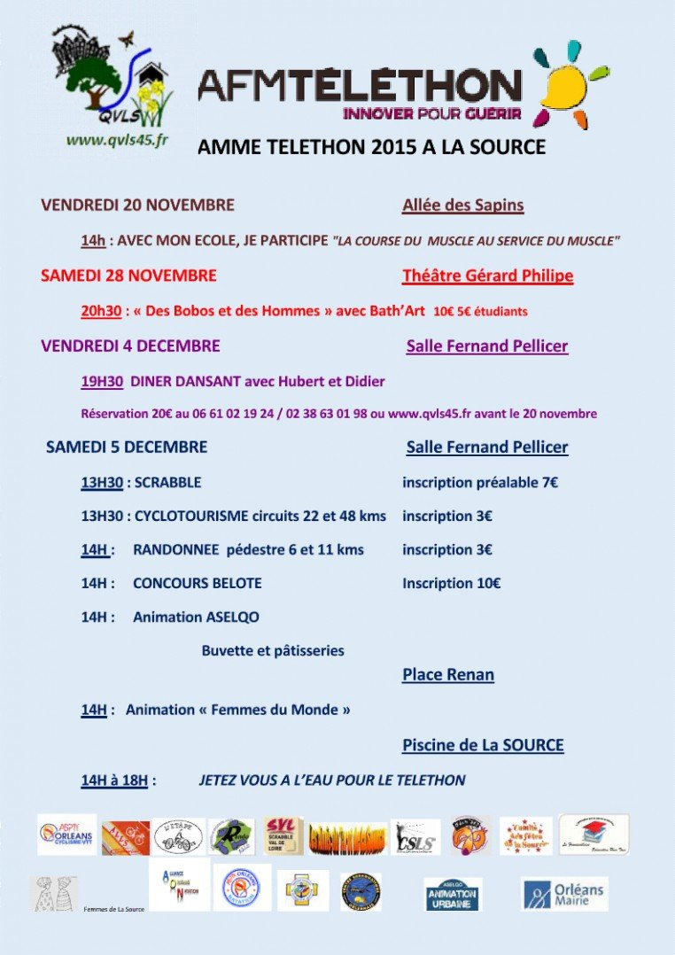 QVLS La Source Telethon 2015
