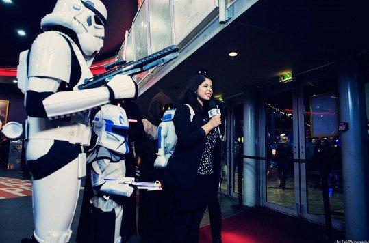 En photo: La Folie de la soirée Star Wars au cinéma Pathé Loire 80