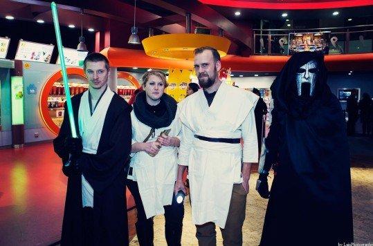En photo: La Folie de la soirée Star Wars au cinéma Pathé Loire 78
