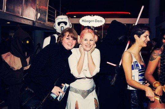 En photo: La Folie de la soirée Star Wars au cinéma Pathé Loire 71