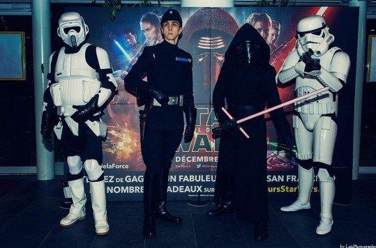 En photo: La Folie de la soirée Star Wars au cinéma Pathé Loire 88