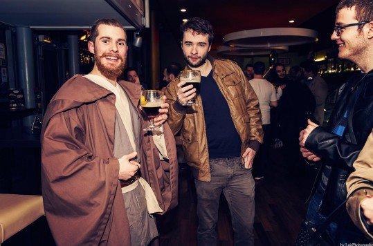 En photo: La Folie de la soirée Star Wars au cinéma Pathé Loire 69