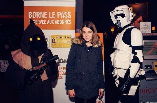 En photo: La Folie de la soirée Star Wars au cinéma Pathé Loire 68