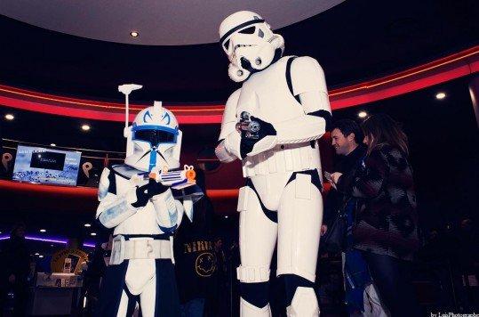En photo: La Folie de la soirée Star Wars au cinéma Pathé Loire 67