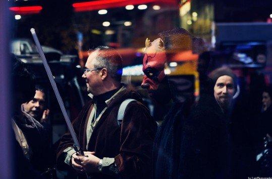 En photo: La Folie de la soirée Star Wars au cinéma Pathé Loire 65