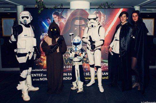 En photo: La Folie de la soirée Star Wars au cinéma Pathé Loire 64