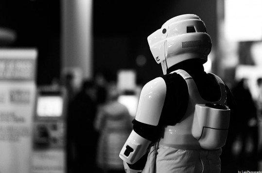En photo: La Folie de la soirée Star Wars au cinéma Pathé Loire 61