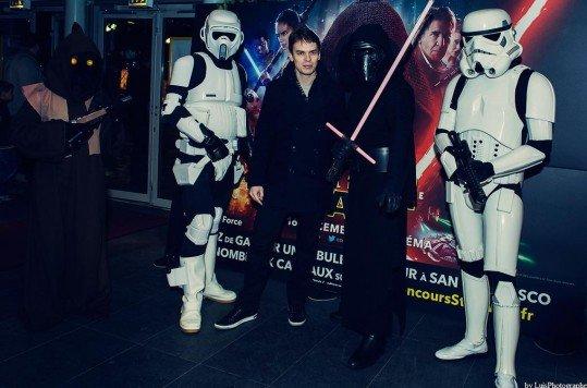 En photo: La Folie de la soirée Star Wars au cinéma Pathé Loire 87