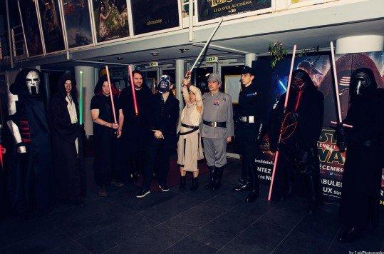 En photo: La Folie de la soirée Star Wars au cinéma Pathé Loire 54