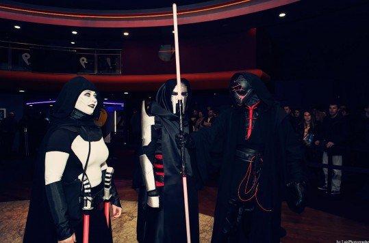 En photo: La Folie de la soirée Star Wars au cinéma Pathé Loire 53