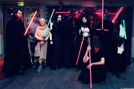 En photo: La Folie de la soirée Star Wars au cinéma Pathé Loire 51