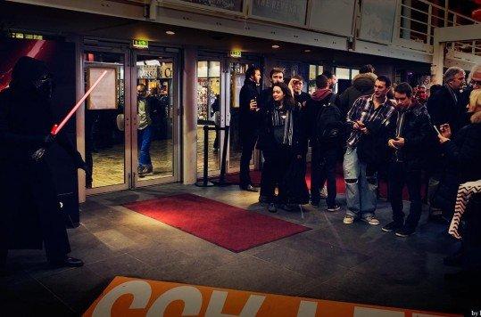 En photo: La Folie de la soirée Star Wars au cinéma Pathé Loire 50