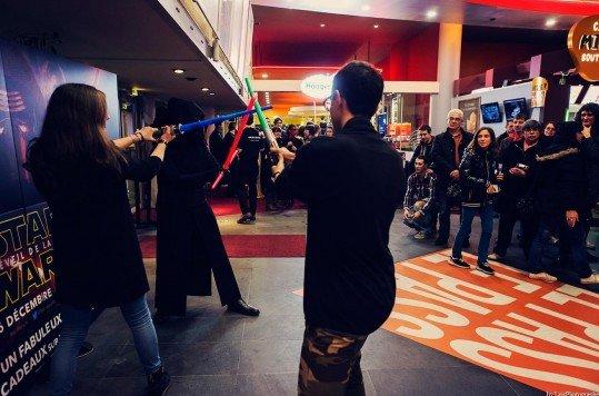 En photo: La Folie de la soirée Star Wars au cinéma Pathé Loire 49