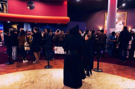 En photo: La Folie de la soirée Star Wars au cinéma Pathé Loire 48