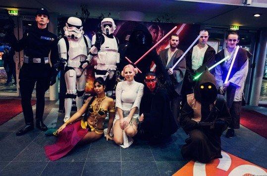 En photo: La Folie de la soirée Star Wars au cinéma Pathé Loire 44