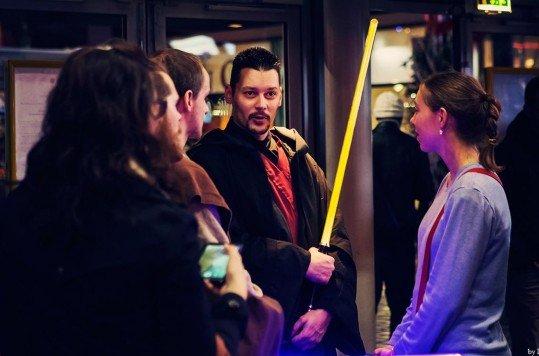 En photo: La Folie de la soirée Star Wars au cinéma Pathé Loire 43